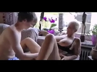 German Mom Loves To Fuck session With her Young Boy