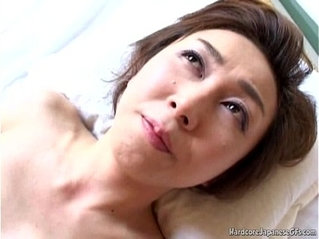 Sultry Japanese MILF Tastes Some Hard style anal Pounding Sex