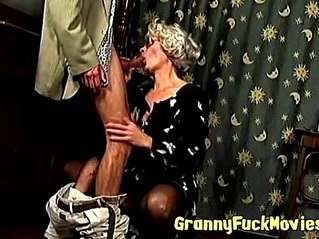 Cock for hungry granny Mea Lee