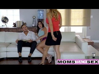 MILF Alexis Fawn Squirts Hard For Step Son GF