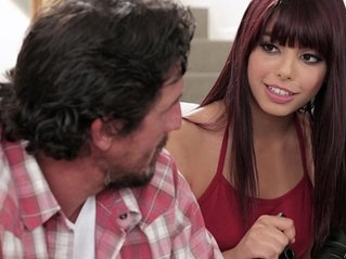 Step daughter makes sextape with her Dad Gina Valentina and Tommy Gunn
