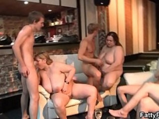 Party with super huge tits bbw