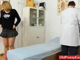 Experiencing pleasures during a lady gyno