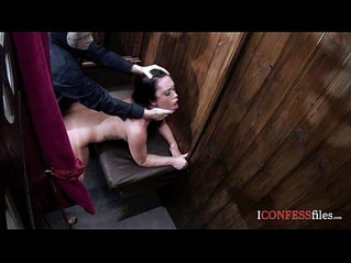 ConfessionFiles Curvy Babe in Action