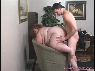 Fat babe gets pounded hard fucked sex