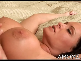 She loves huge cock in face hole and twat