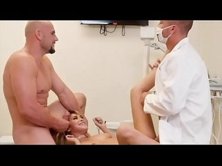 Couple Have A Threeway With Their Dentist